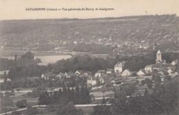 CP JAULGONNE 02 AISNE - VUE GENERALE DE JAULGONNE ET BARZY - France