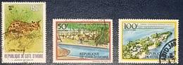 Cote D'ivoire Petite Série De Timbres 1984 YT N.701 B.C.D - Côte D'Ivoire (1960-...)
