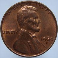 USA United States USA 1 Cent 1964 D UNC - Emissioni Federali