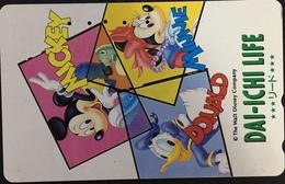 Paco \ GIAPPONE \ JP-110-154150 \ The Walt Disney Co. - Dai-ichi Life \ Usata - Japan