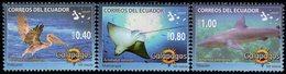 Ecuador - 2008 - Fauna Of Galapagos - Mint Stamp Set (incomplete) - Equateur