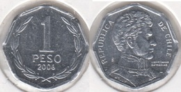 Cile 1 Peso 2006 KM#231 - Used - Cile