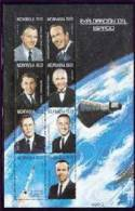 NICARAGUA   2353  MINT NEVER HINGED MINI SHEET OF SPACE  # M - 586-1  ( - Space