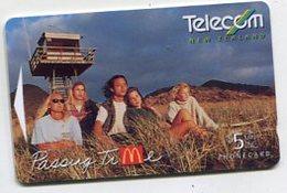 TK 05352 NEW ZEALAND - 261B... McDonald's MINT! - Neuseeland