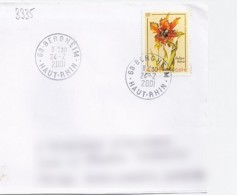 TP N° 3335 SUR LETTRE DE 2001 - Marcophilie (Lettres)