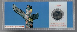 Canada 1999 1/4 $ A Tribute To First Nations - Canada