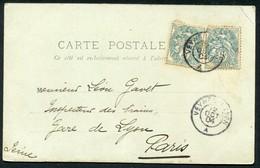 CAD AMBULANT VEYNES A LYON - Marcophilie (Lettres)