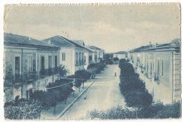San Salvatore Telesino Via Roma Dal Municipio #Cartolina #Paesaggi - Benevento