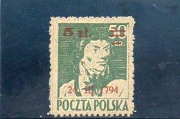 POLOGNE 1945 ** - 1944-.... Repubblica
