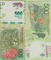 ARGENTINA 500 Pesos ND (2016)  P 365 UNC - Argentine