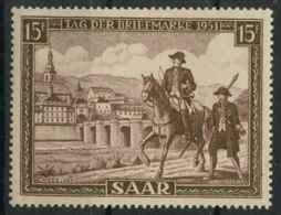 Sarre (1951) N 291 (Luxe) - 1947-56 Occupation Alliée
