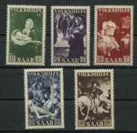 Sarre (1951) N 296 A 300 (Luxe) - 1947-56 Occupation Alliée