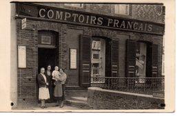 Revin? Comptoirs Français (au Do En Crayon : épicerie  Carte -photo - Revin