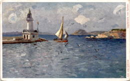 Leuchtturm Von Spalato (8) * 10. 9. 1912 - Croatia