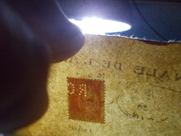 Marcophilie  Cachet Lettre Obliteration -  Timbre Perforé RC  - 1936 - (2400) - Marcofilia (sobres)