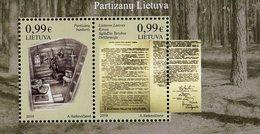 Lithuania - 2019 - Partisans Of Lithuania - Mint Souvenir Sheet - Lithuania