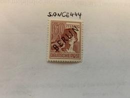 Berlin Black Overp. 60p Mnh 1948 #1 - Unused Stamps