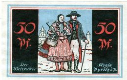 Billet De Nécessité 50 Pfennig De 1921 Allemagne - 1918-1933: Weimarer Republik