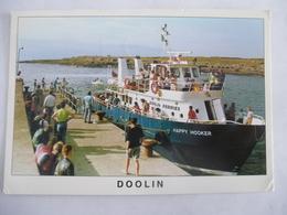 IRLANDE: FERRIES Pour ARAN ISLANDS Dans Le Port De DOOLIN - Détails Sur Les 2ème Scan - Ferries