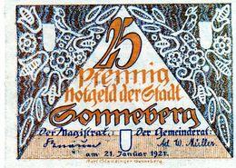 Billet De Nécessité 25 Pfennig De 1921 Allemagne - [ 3] 1918-1933 : República De Weimar