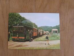 TTA Tramway Touristique De L'Aisne Erezée Gare D' Amonines Ardenne Tram Tramways SNCV Vicinal Vicinaux Carte Postale - Tramways