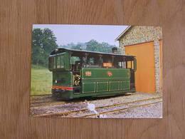 TTA Tramway Touristique De L'Aisne Erezée Locomotive Type 1076 Ardenne Tram Tramways SNCV Vicinal Vicinaux Carte Postale - Tramways