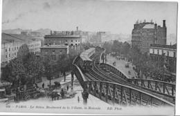 Paris - Le Metro. Boulevard De La Villette, La Rotonde - Metro, Estaciones