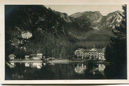 LAGO DI BRAIES. ITALIA POSTALE CPA CIRCA 1900's NON CIRCULE - LILHU - Bolzano (Bozen)