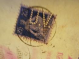 Marcophilie  Cachet Lettre Obliteration -  SUISSE Timbre Perforé UV + Contrôle Postal - 1916 - (2403) - Suiza