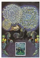 Liechtenstein 1981 Europa CEPT Set Of 2 Maximum Cards And Original Envelope - Maximum Cards