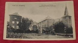 Gruss Aus Wegberg - Pfarrhaus Und Kirche --------------- 498 - Wegberg