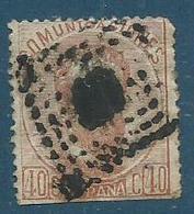 Timbre Espagne 1872 - 1868-70 Provisional Government