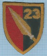 GEORGIA / Patch Abzeichen Parche Ecusson / 23rd Infantry Battalion. The War In Abkhazia And South Ossetia 2008. - Ecussons Tissu