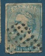 Timbre Espagne Nº156 - 1868-70 Provisional Government