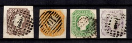 Portugal YT N° 13 Et N° 15/17 Oblitérés. B/TB. A Saisir! - 1862-1884 : D.Luiz I