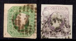 Portugal YT N° 16 Et N° 17 Oblitérés. B/TB. A Saisir! - 1862-1884 : D.Luiz I