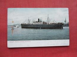 Hamburg Amerikalinie  Dampfer  Batavia     Ref 3317 - Paquebots