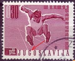 LONG JUMP-0.30 DIN-BALKAN ATHLETIC GAMES-ERROR - YUGOSLAVIA - 1966 - Athletics