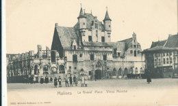 AN 157  / C P A    BELGIQUE -MALINES  -  LA GRAND PLACE  VIEUX MARCHE - Mechelen