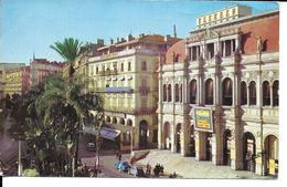 Afrique-Algérie-ALGER  (El-Djezair) La Place De L'Opéra  (Café D'Alger- Citroen 2 CV C V - JOMONE 4013)  *PRIX FIXE - Algiers