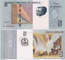 ANGOLA       5 Kwanzas       P-151A       10.2012 (2017)       UNC - Angola