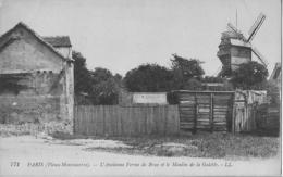 Paris -  Vieux-Montmartre - L'ancienne Ferme De Bray Et Le Moulin De La Galette - Francia