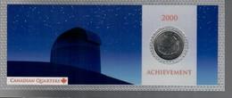 Canada 2000 1/4 $ Achievment - Canada