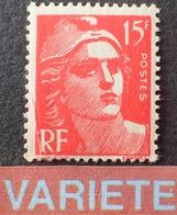 R1949/593 - 1948 - TYPE MARIANNE DE GANDON - N°813 NEUF** ➤➤➤ FAUX DE MARSEILLE - Variétés Et Curiosités