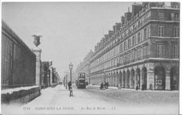 Paris -  Paris Sous La Neige - La Rue De Rivoli - Francia