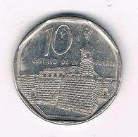 10 CENTAVOS 2000 CUBA /3793/ - Cuba