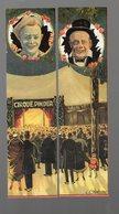 Lot De 2 Marque-pages De 1999 CIRQUE PINDER  (reproductions De Dessins De Chabrillac 1928) (PPP10634) - Marque-Pages