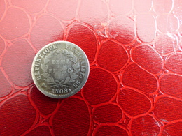 DEMI FRANCS 1808BB - G. 50 Centimes