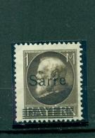 Saargebiet, Sarre Auf König, Nr. 27 Postfrisch ** Geprüft - Deutschland