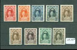 SURINAME SERIE 118 - 126 ONGEBRUIKT MET PLAKKERREST - Suriname ... - 1975